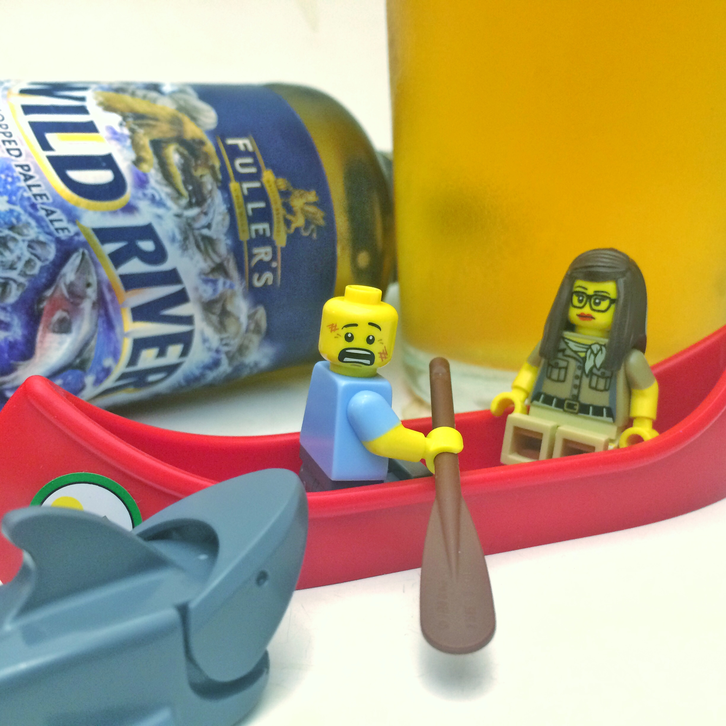 Lego goes well with everything – even beer