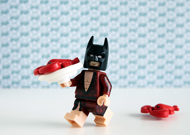 Lobster-Lovin' Batman