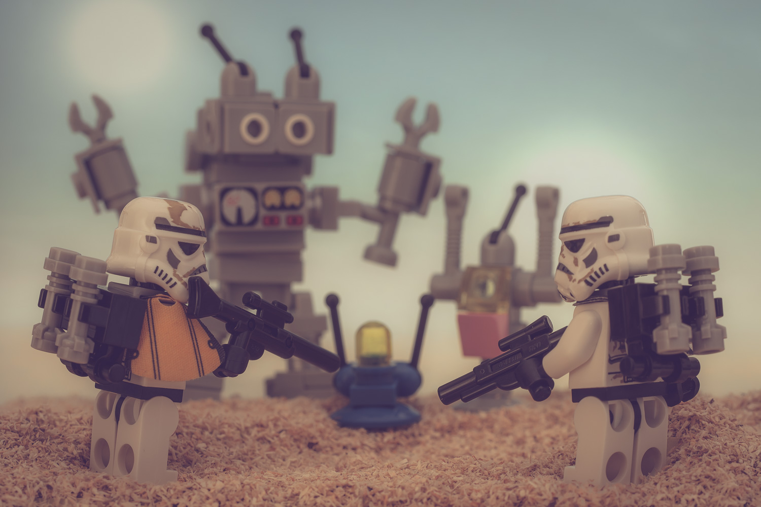 "Behind the scenes of ""These are not the droids…"""