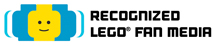 recognized LEGO fan media