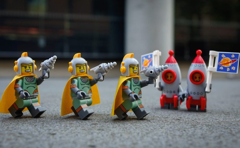 Series 17: Retro Spacemen and Rocket Boys