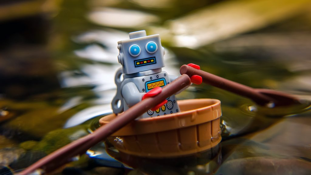 Taking on Tips: Row, row, row your bot