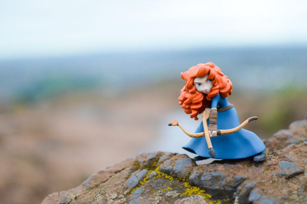 Brave figure in Scotland