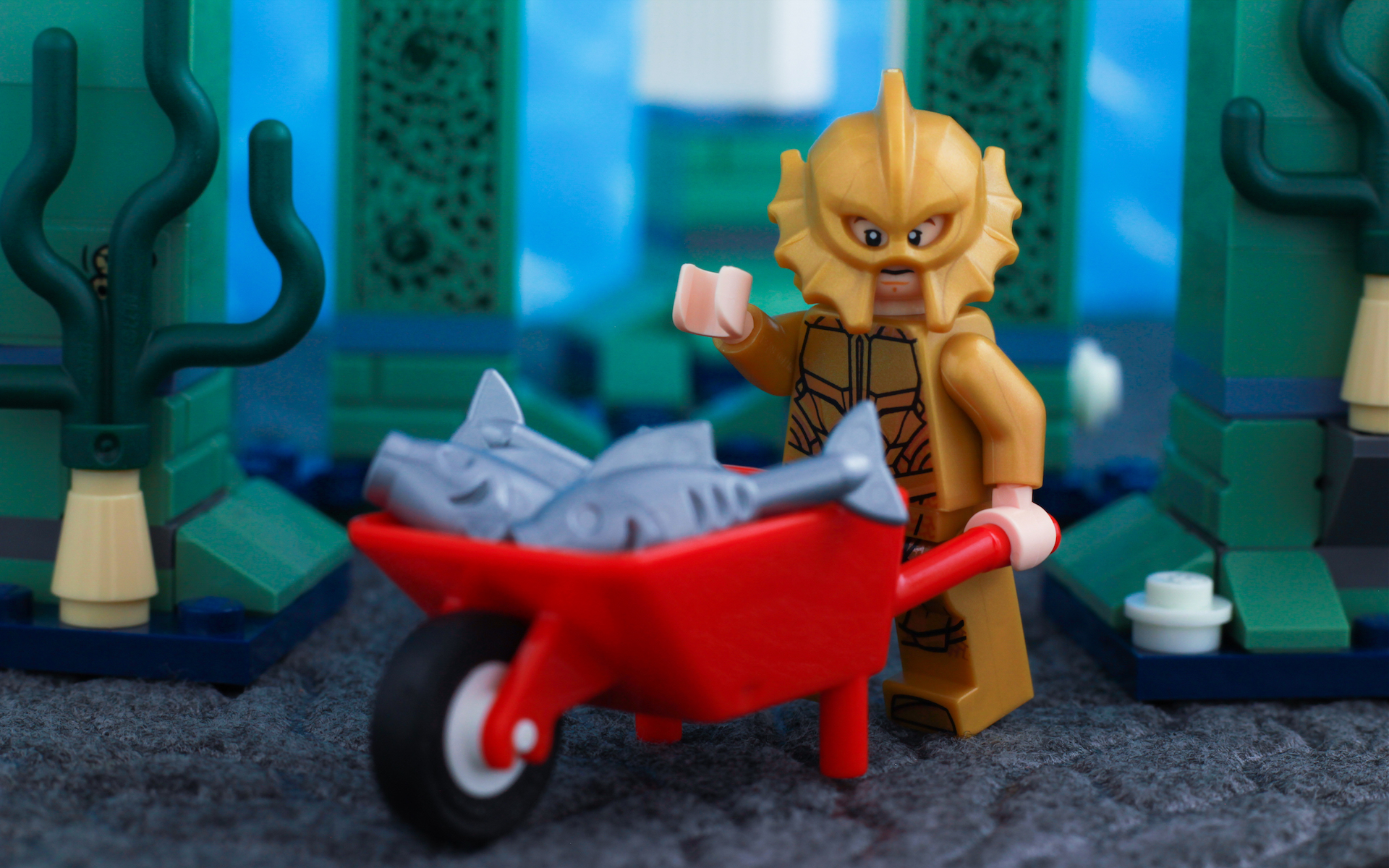 LEGO Aquaman Justice League