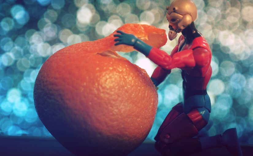 Antman Peels Orange