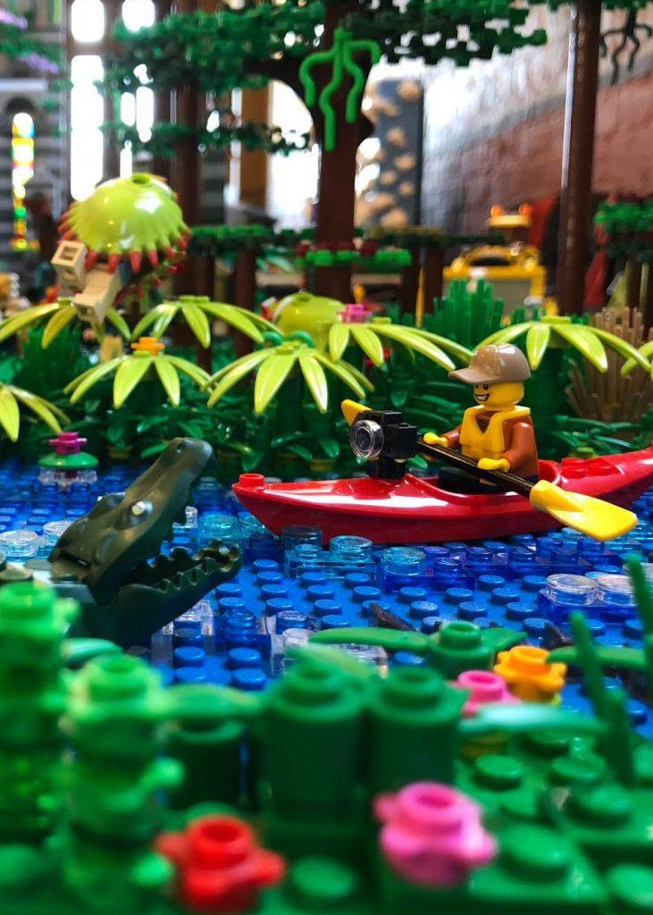 Brickvention Charity Silent Auction: Juan De Castro's inspired LEGO photograph