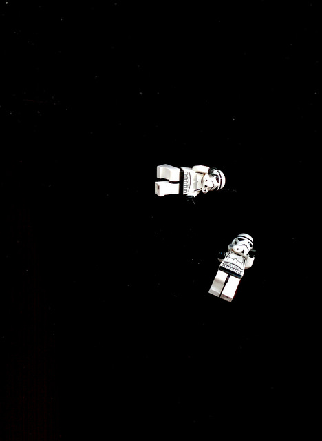 Stormtroopers floating