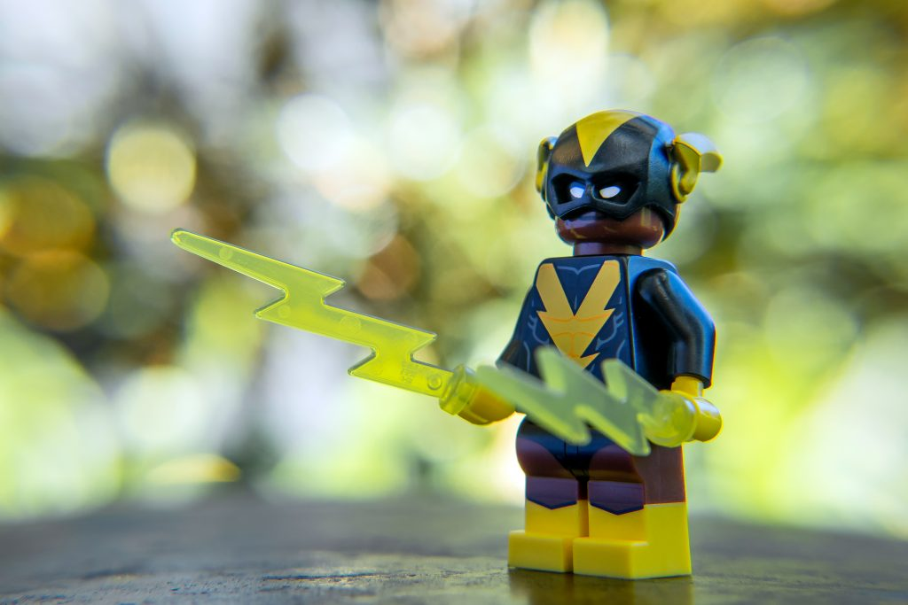 The Batman Movie Series 2 CMF Review: Black Vulcan