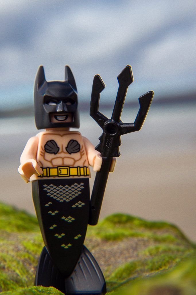 The Batman Movie Series 2 CMF Review: Mermaid Batman