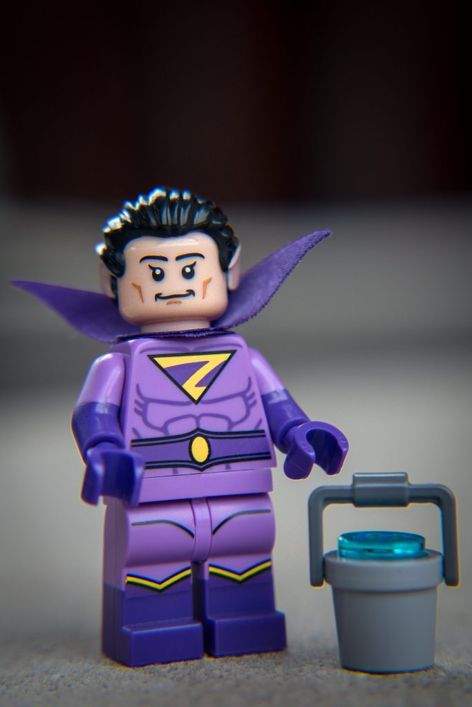 The Batman Movie Series 2 CMF Review: Zan