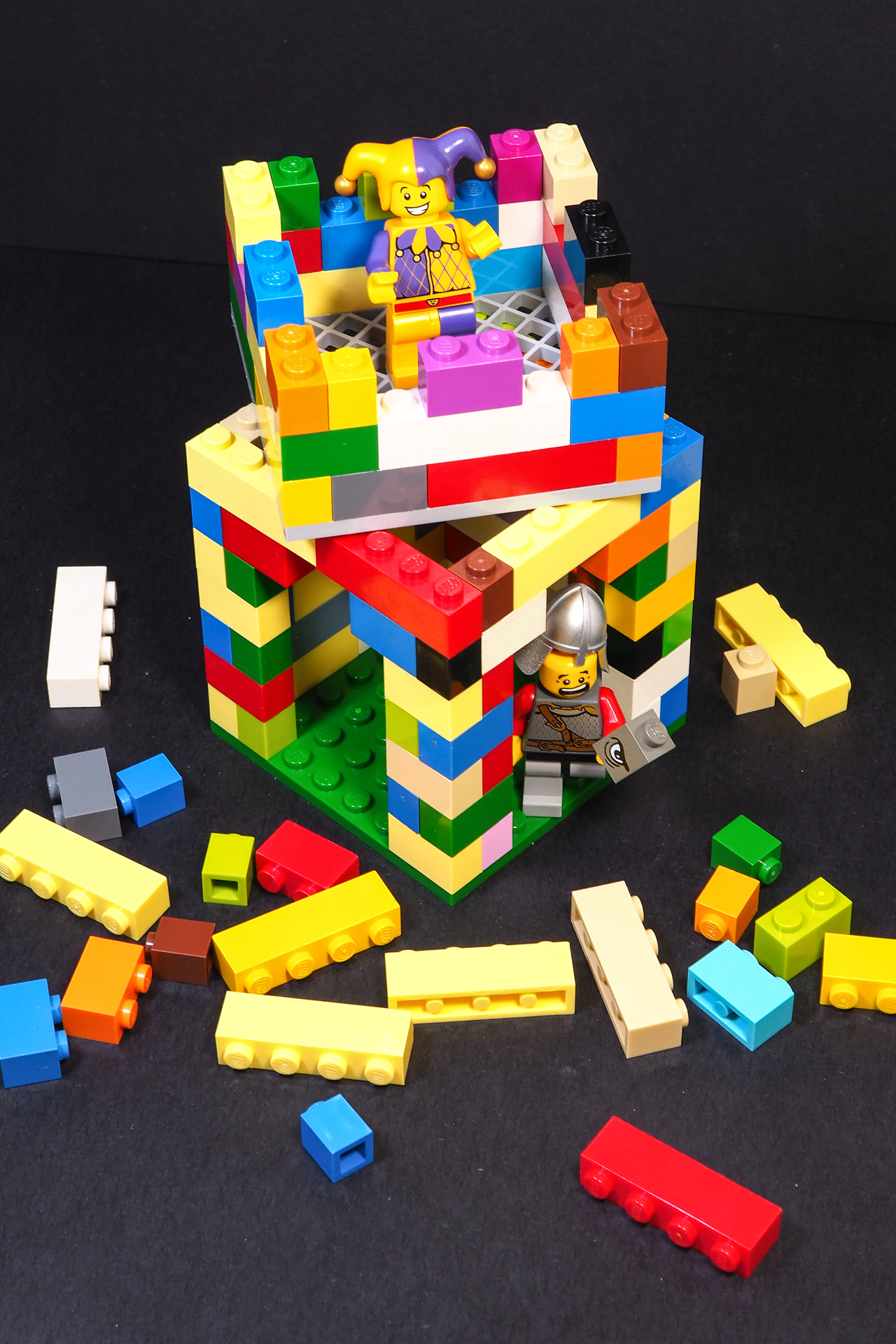 Modular castle pieces save time, money, and patience