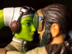 Star Wars Rebels Black Series action figures Hera and Kanan by Stormtrooper_Pete