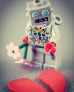 LEGO Robot heart feelings by ardavis1174