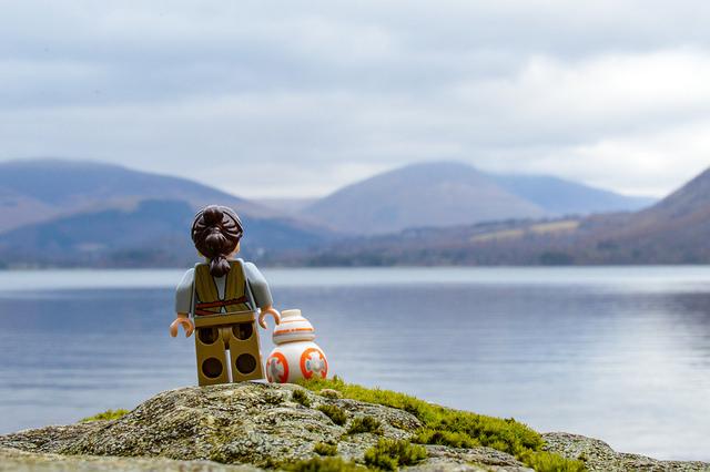 Rey and BB-8 visiting Derwentwater.