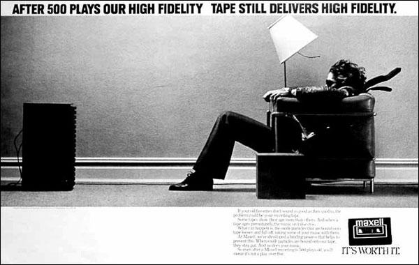 Maxwell high fidelity ad