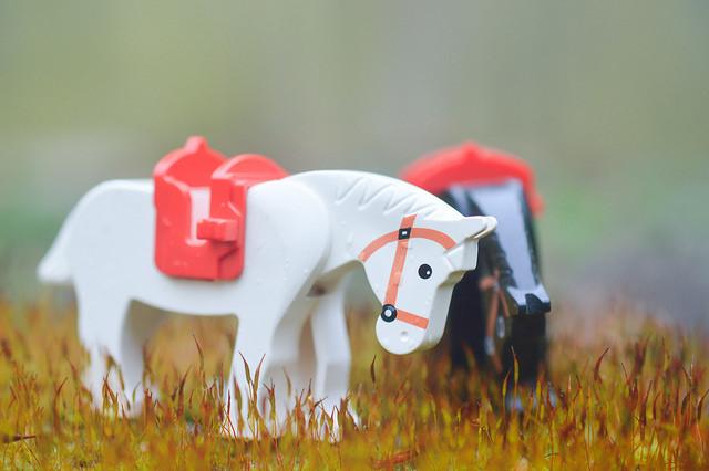 LEGO horses