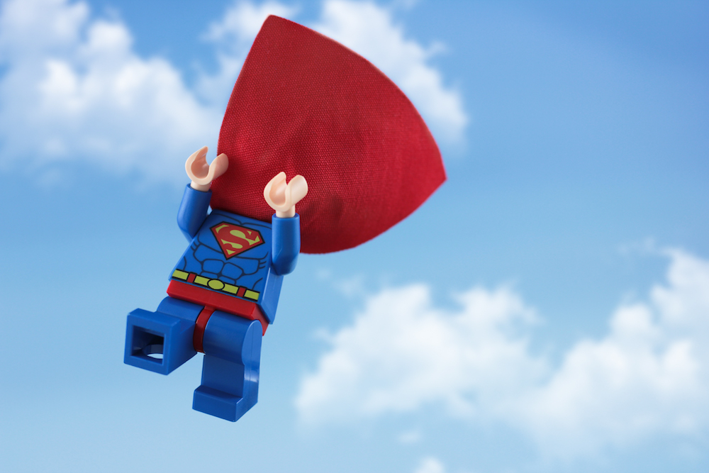 LEGO Superman by James Garcia