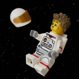 LEGO spaceman by James Garcia
