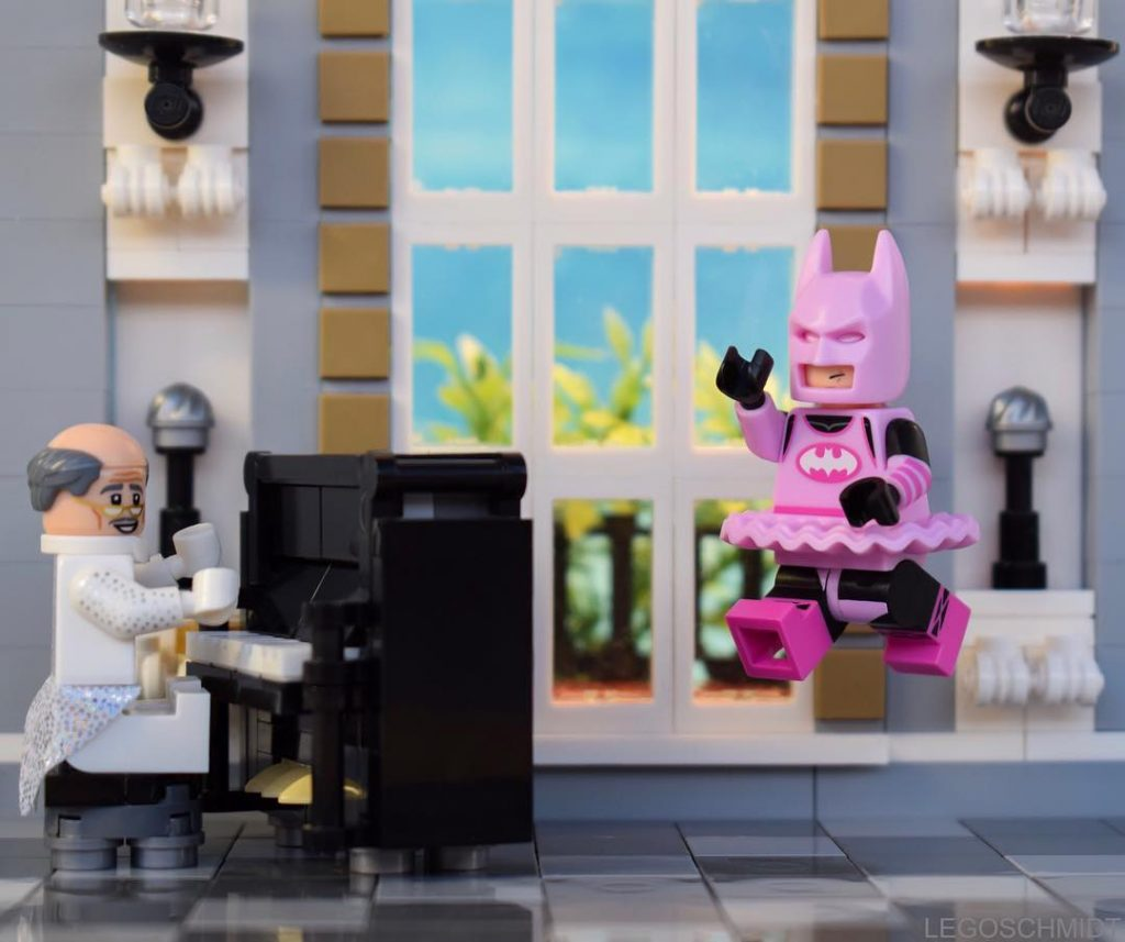 Series 18 Winners: @legoschmidt - Before finding a new family Batman's best friend was Alfred. Their parties were very sad: classical music and boring dances