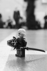LEGO figure in Kendo armour