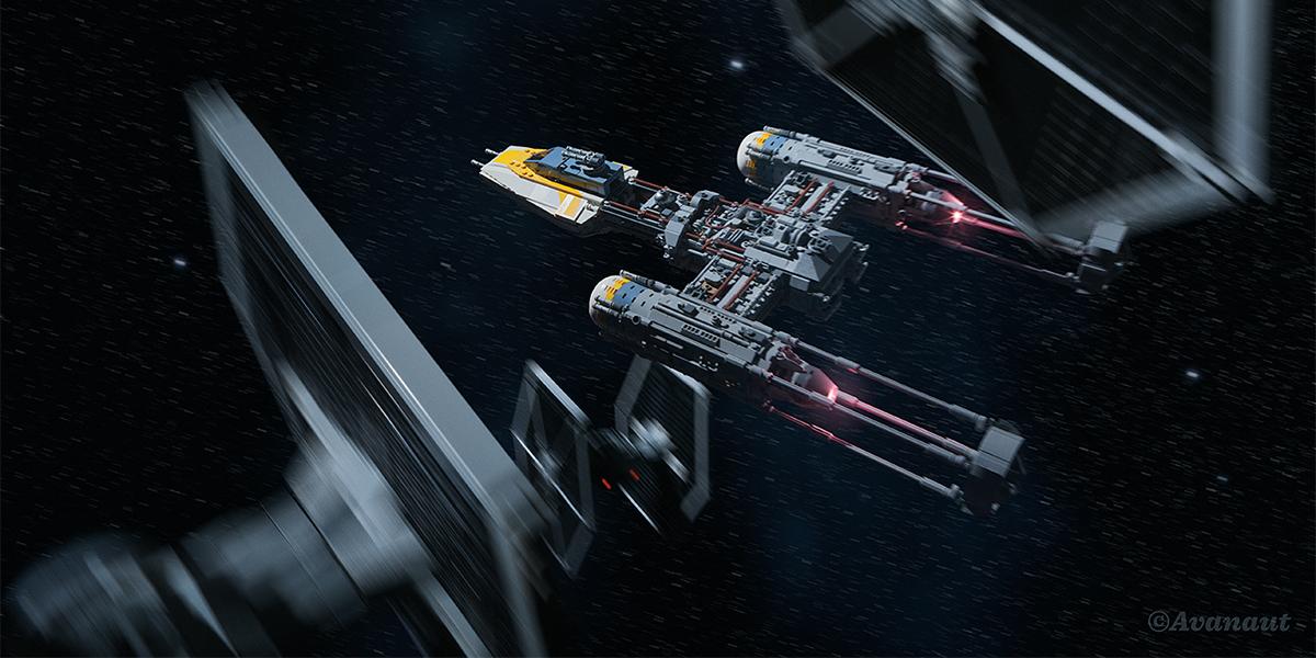 LEGO UCS Y-Wing