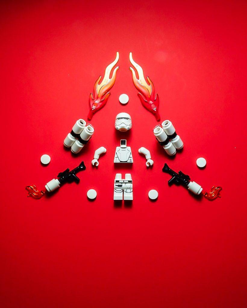 LEGO Star wars Flametrooper by Blake Powell BlvdBricks