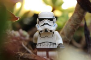 LEGO Stormtrooper still life by ljtoyphotography