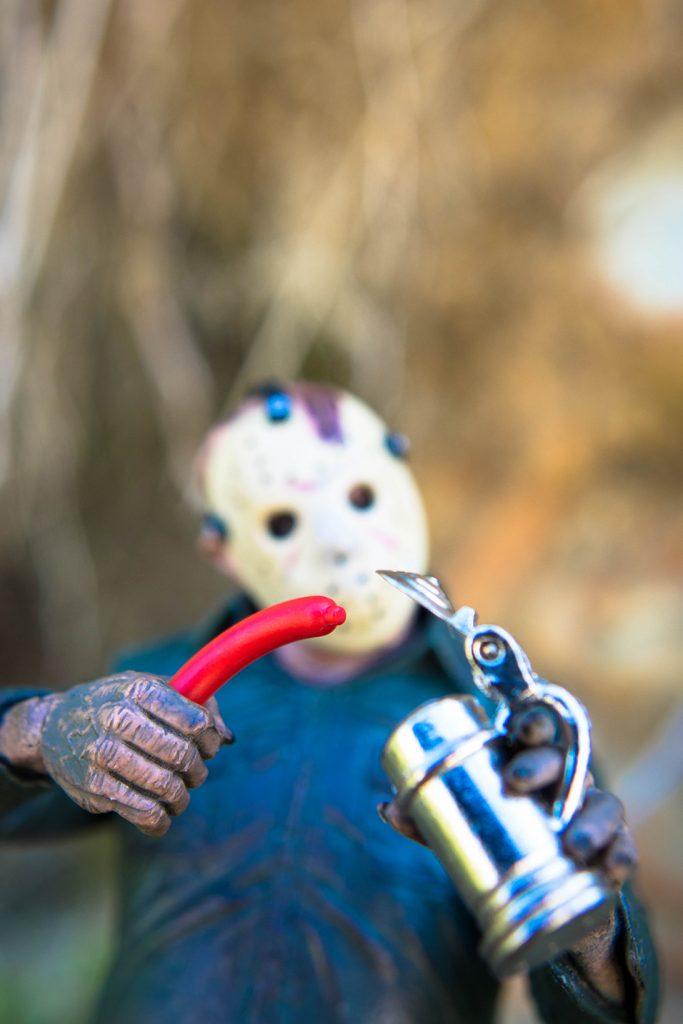 Oregon Toy Photography Safari: Beer tankard wiener dipping aficionado
