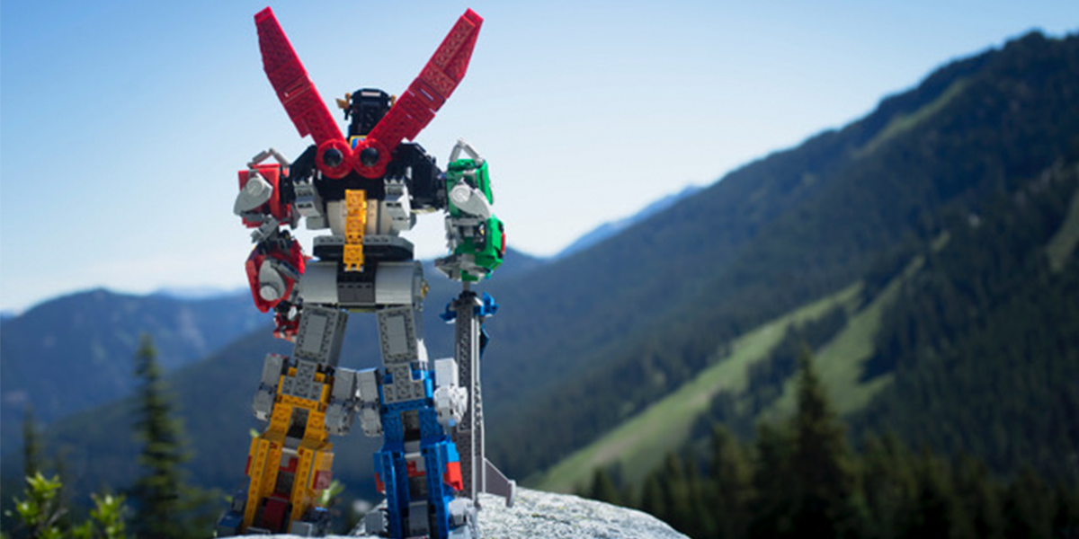Podcast 24: LEGO Ideas Voltron Review