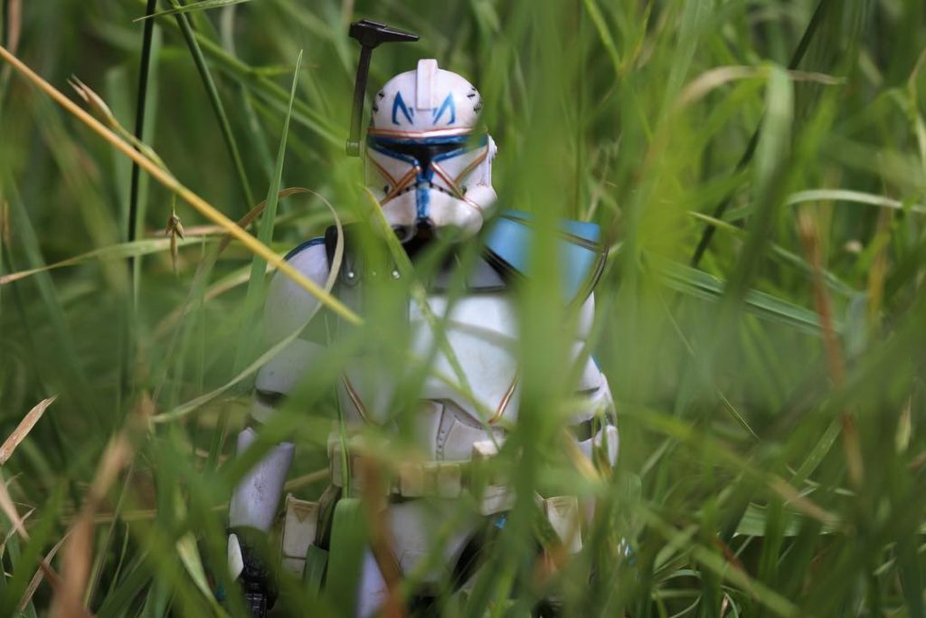Star Wars Rex clone trooper toy photo by LJToyPhotography