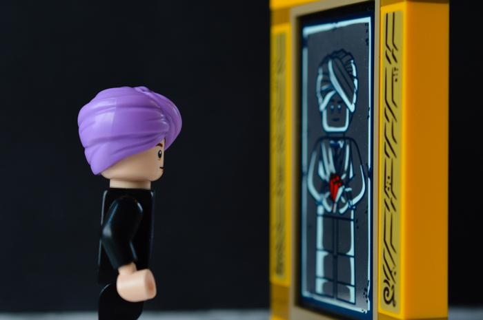LEGO Quirrel and the Mirror of Erised