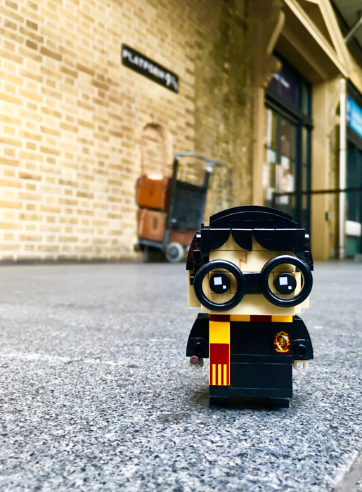 Harry Potter BrickHeadz at King's Cross
