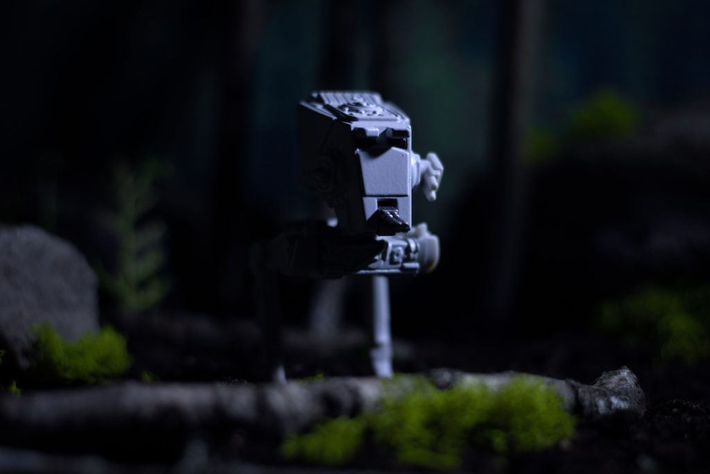 Lume Cube Star Wars toy photography