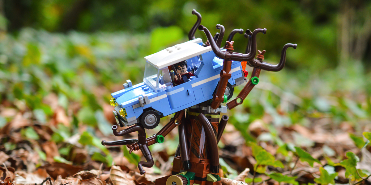 Harry Potter and the Whomping Willow (a toy photographers review)