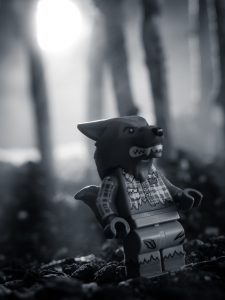 LEGO Wolfman by James Garcia