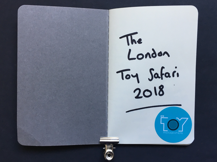 The London Toy Safari guestbook