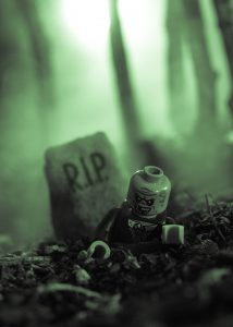 LEGO Zombie by James Garcia