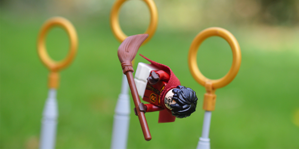 Harry Potter and the Quidditch Match (a toy photographers review)