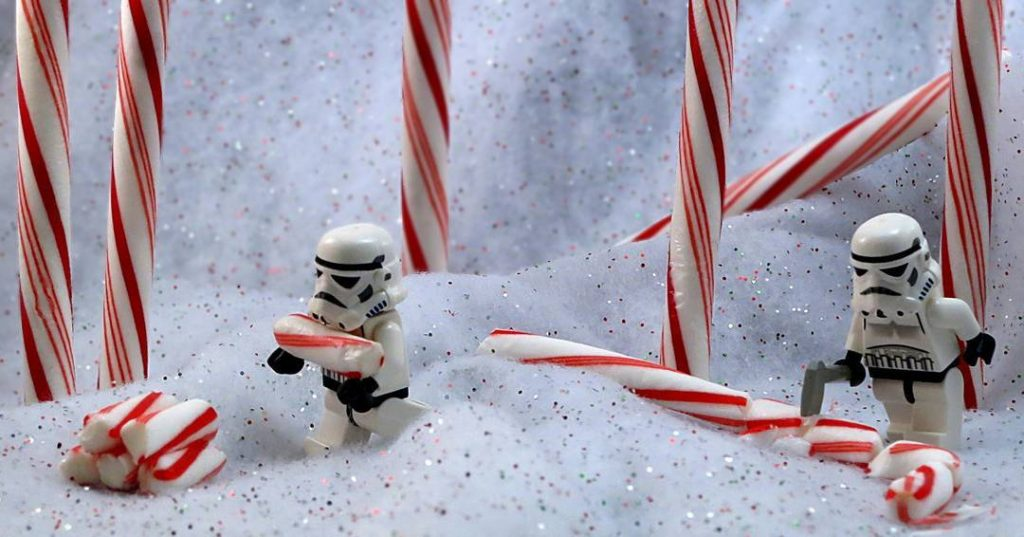 LEGO Stormtrooper Christmas by Dave DeBaeremaeker