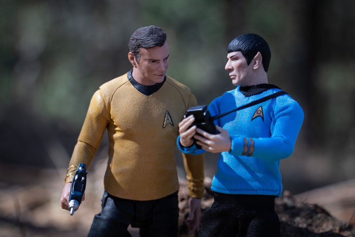 Kirk and Spock - Teddi Deppner @teddi_toyworld