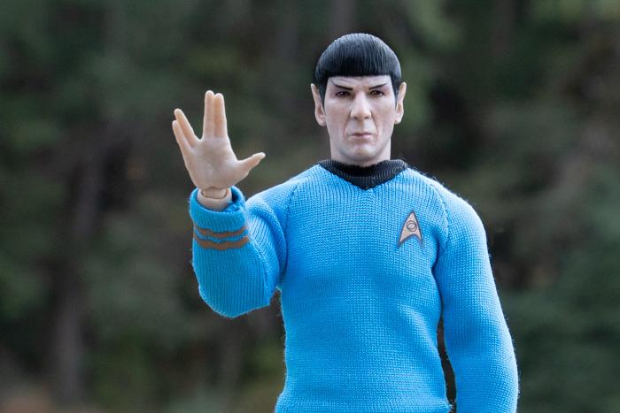 """Spock """"Live Long and Prosper"""" - Teddi Deppner @teddi_toyworld"""