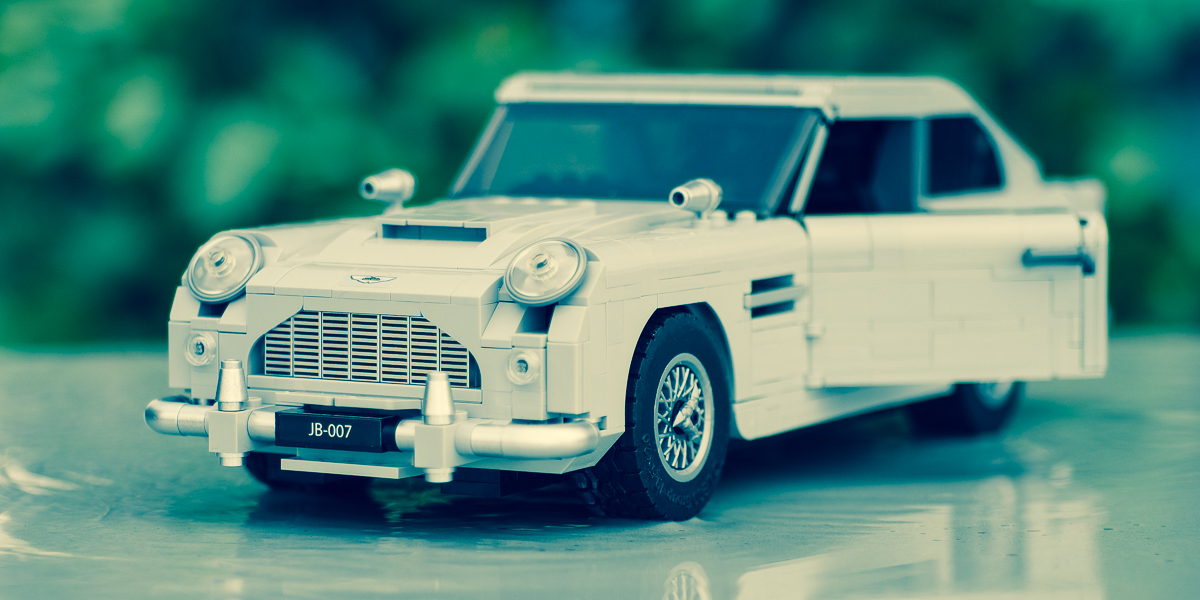 Licensed to Build – a review of the LEGO Aston Martin DB5