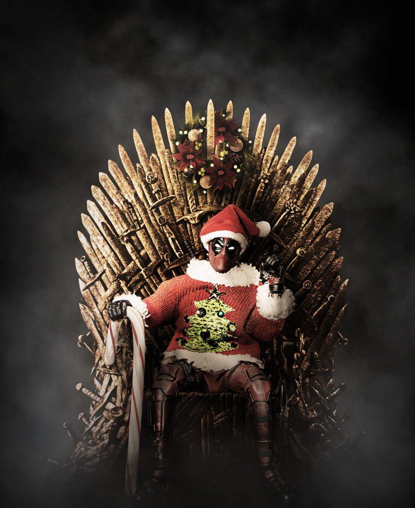 deadpool iron throne