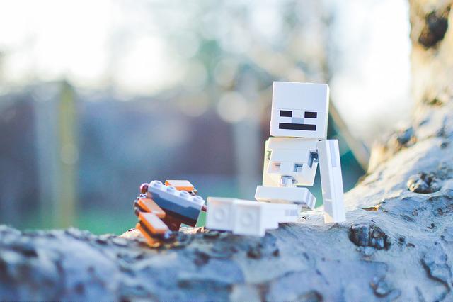 LEGO Big Fig Skeleton