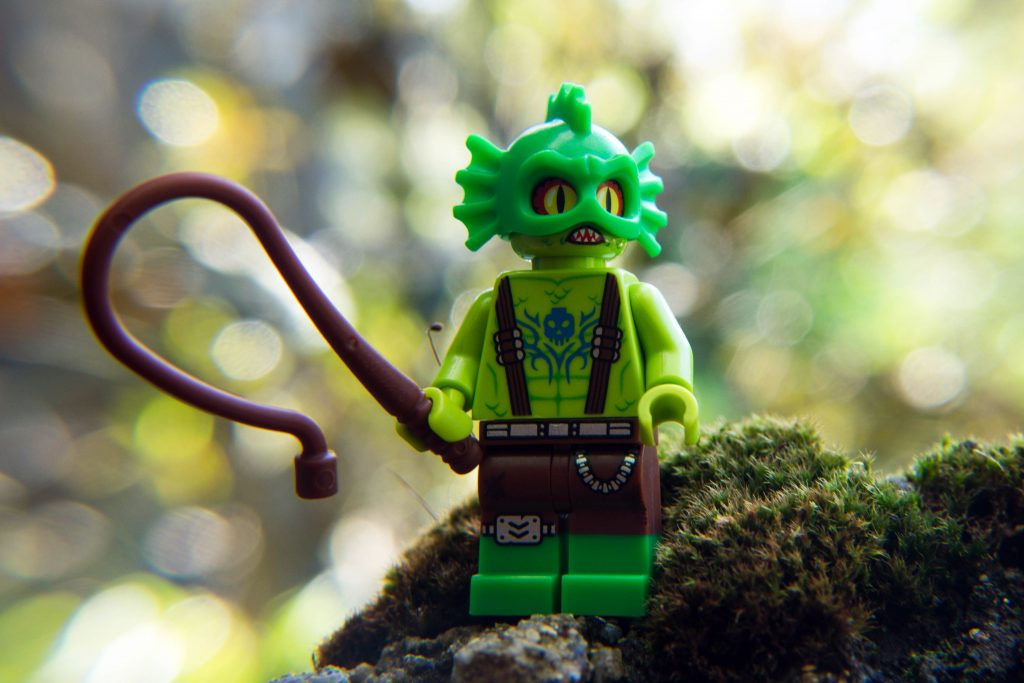 The LEGO Movie 2 Minifigure Review: Swamp Monster