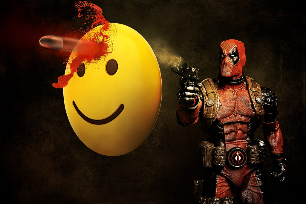 Deadpool Vs The Emoji