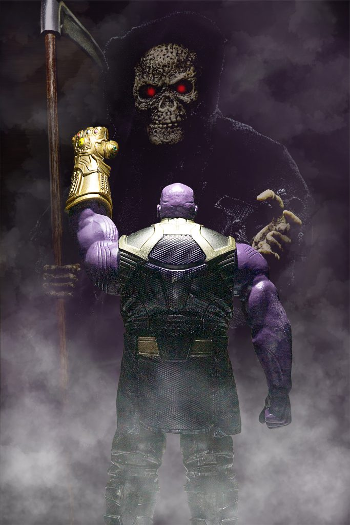Turning Thanos purple