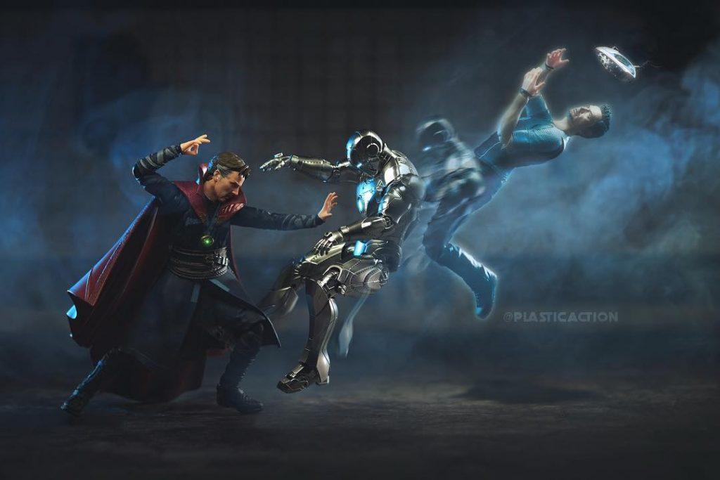 Doctor Strange Iron Man Toy Photo by Jax Navarro PlasticAction