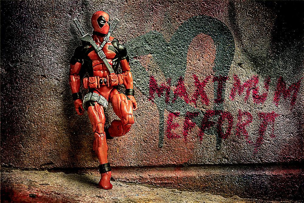 Deadpool in Graffiti Alley