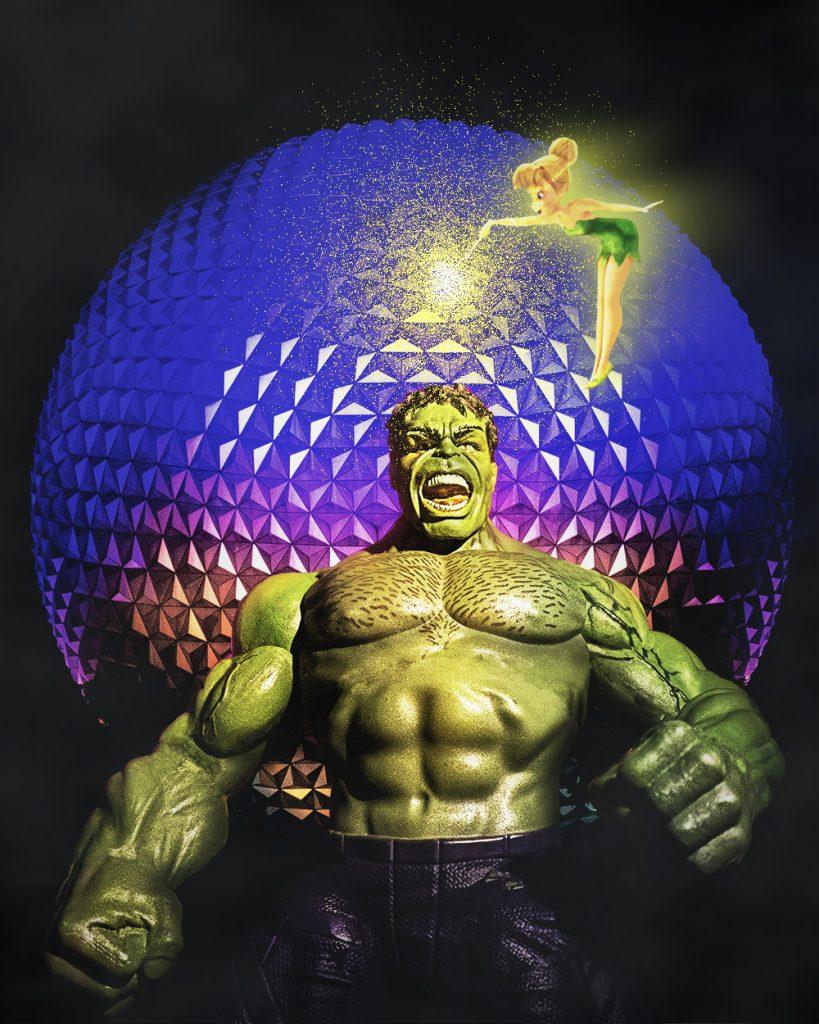 Hulk at Epcot